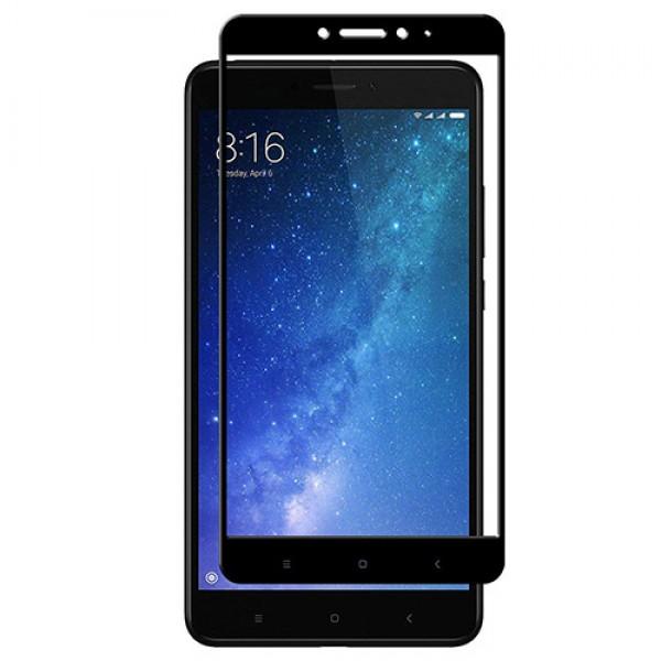 محافظ صفحه شیشه ای تمام صفحه تمام چسب Xiaomi Mi Max 2 Mocol Glass