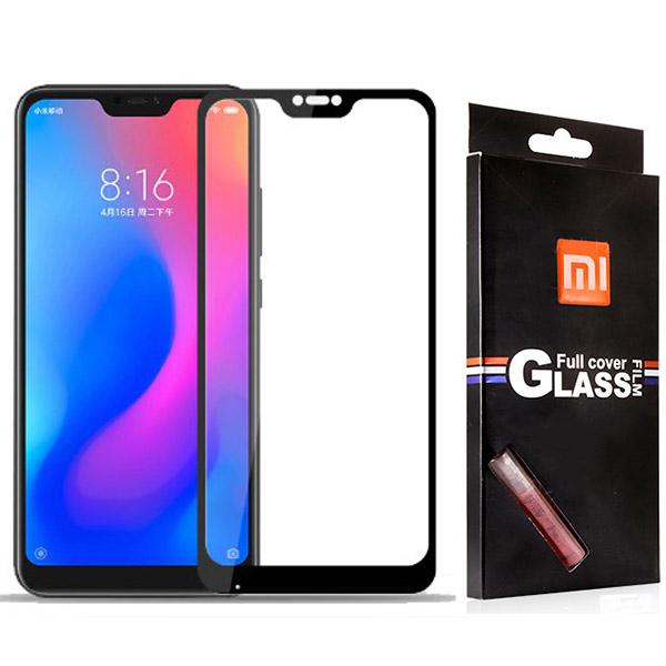 محافظ صفحه شیشه ای تمام صفحه تمام چسب مارک TT مناسب Xiaomi Mi A2 Lite/Redmi 6 Pro