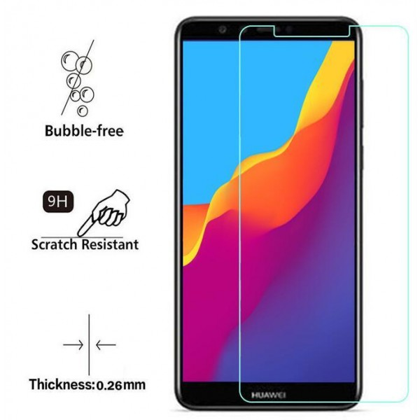 محافظ صفحه نمایش شیشه ای هواوی Huawei Y6 2018 / Honor 7A
