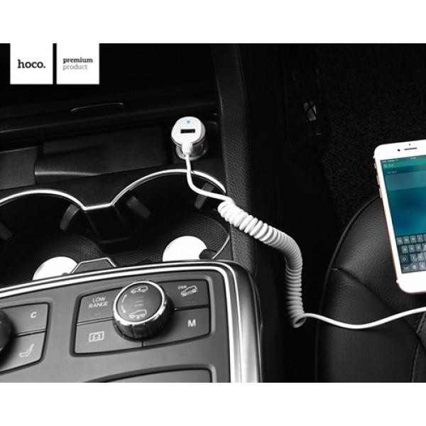 شارژر فندکی 3.4 میلی آمپر هوکو Hoco Z14 Car Charger همراه با کابل