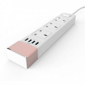 سه راهی برق و شارژر الدینیو LDNIO SK3460 دارای 4 پورت USB