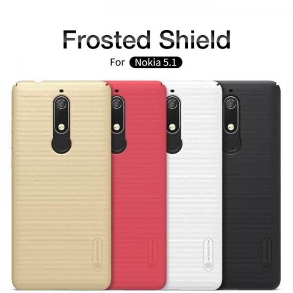 کاور محافظ نیلکین Frosted Shield مناسب Nokia 5.1 2018