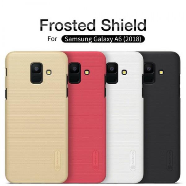 کاور محافظ نیلکین Frosted Shield مناسب Samsung Galaxy A6 2018