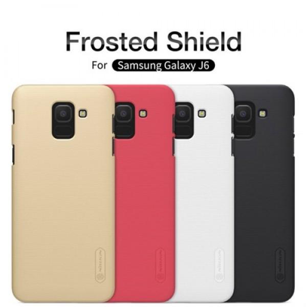 کاور محافظ نیلکین Frosted Shield مناسب Samsung Galaxy J6 2018