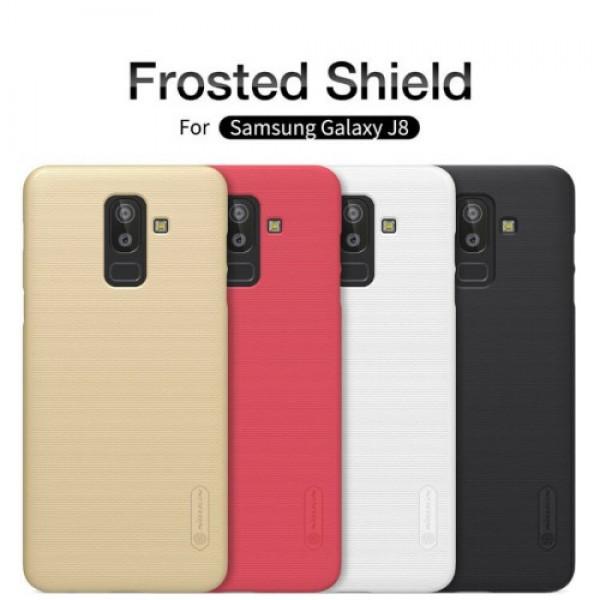 کاور محافظ نیلکین Frosted Shield مناسب Samsung Galaxy J8 2018 / J810