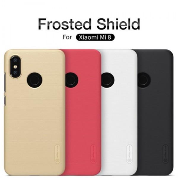کاور محافظ نیلکین Frosted Shield مناسب Xiaomi Mi 8 / Mi8