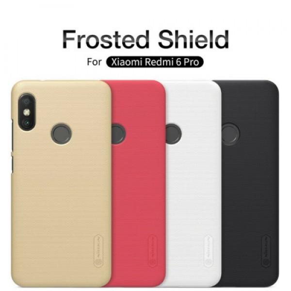 کاور محافظ نیلکین Frosted Shield مناسب Xiaomi Mi A2 Lite/Redmi 6 Pro