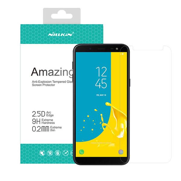 محافظ صفحه نمایش شیشه ای نیلکین H+ Pro Glass Samsung Galaxy J6 2018