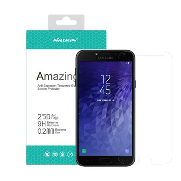 محافظ صفحه نمایش شیشه ای نیلکین H+ Pro Glass Samsung Galaxy J4 2018