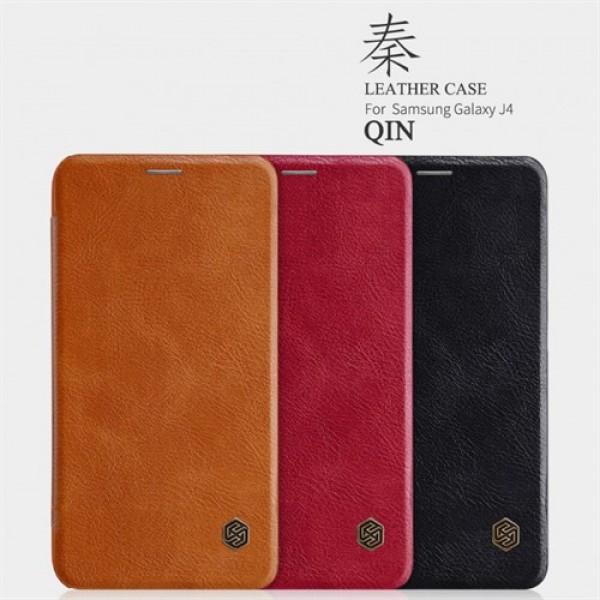 کیف چرمی نیلکین سامسونگ Samsung Galaxy J4 2018 Nillkin Qin