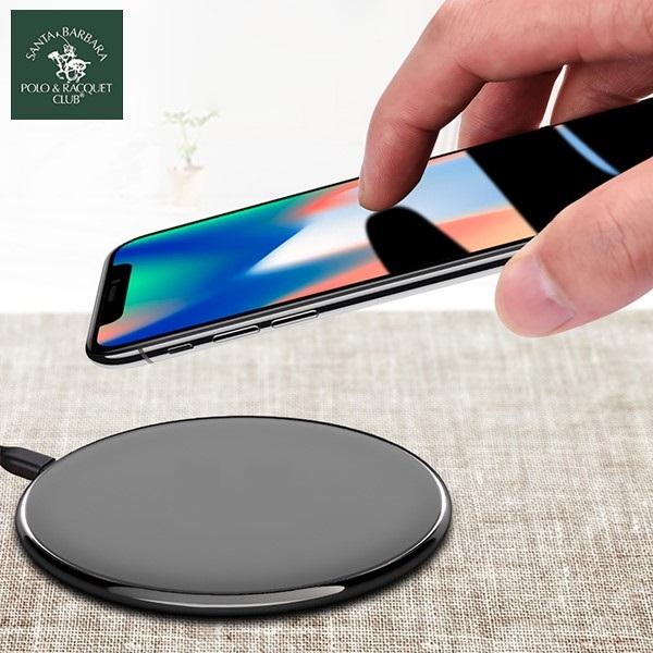 شارژر وایرلس رومیزی پولو Polo Contact Fast Wireless Charging Pad