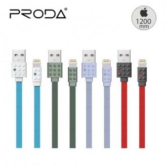 کابل شارژ فلت لایتنینگ پرودا Remax Proda Lego PC-01i Data Charge Cable