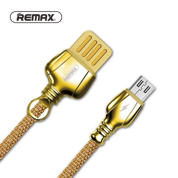 کابل شارژ فلزی میکرو یو اس بی ریمکس Remax RC-063m Charging And Data
