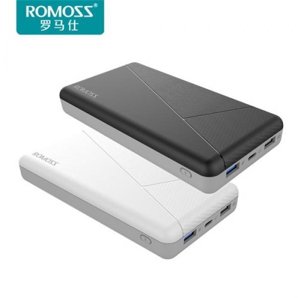 پاوربانک فست شارژ 20000 میلی آمپر روموس Romoss PIE20 PRO Qualcomm 3.0