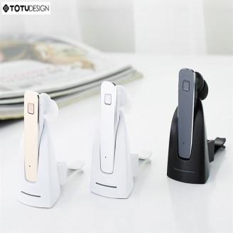 هندزفری بلوتوث تک گوش توتو TOTU Enjoy Car Bluetooth به همراه داک شارژ