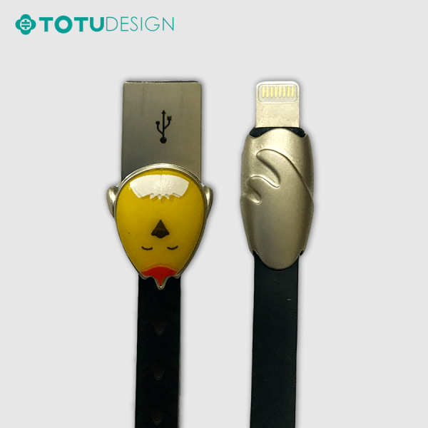 کابل لایتنینگ 120 سانتی متری طرح جوجه توتو TOTU LI07 Chick Cable