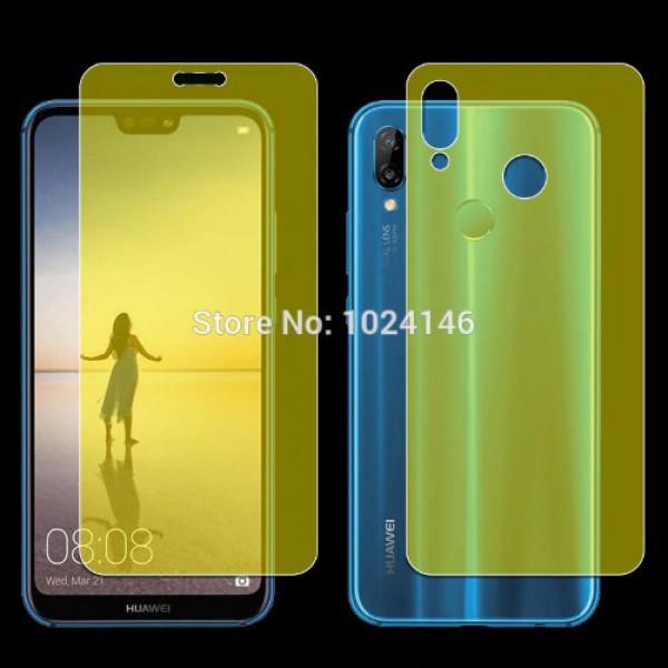 محافظ نانو تمام صفحه پشت و رو مناسب Huawei Nova 3e / P20 Lite 2 in 1 Protector