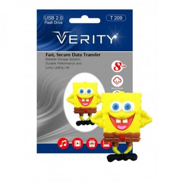 فلش مموری عروسکی 8 گیگابایت وریتی Verity T209