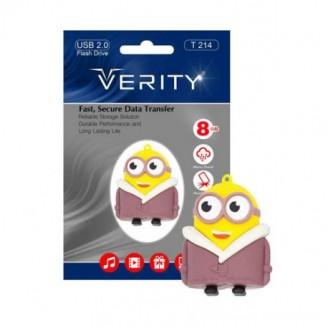 فلش مموری عروسکی 8 گیگابایت وریتی Verity T214