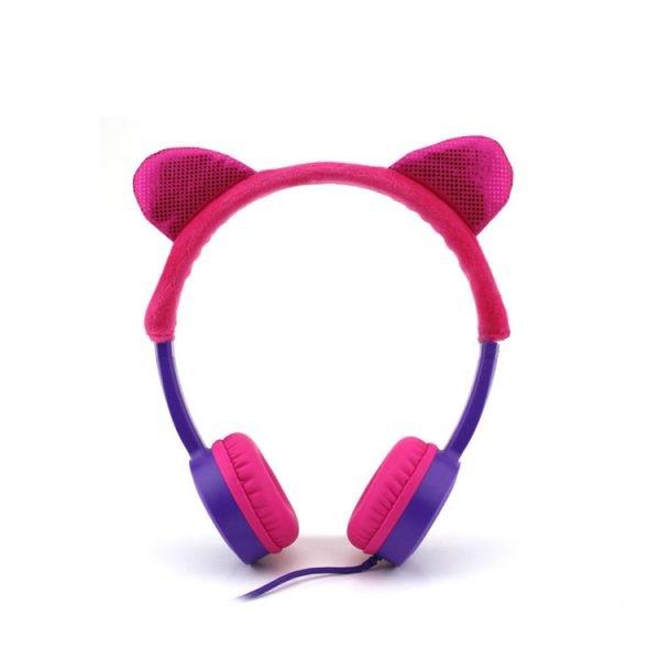 هدفون سیم دار وریتی Verity V-H32WK Kids Headphone طرح بچگانه