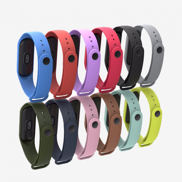 بند سیلیکونی دستبند هوشمند شیائومی Mi Band 3 Silicone