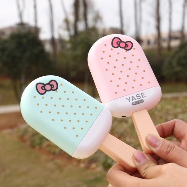 پنکه دستی فانتزی طرح بستنی YASE ice cream Mini Fan