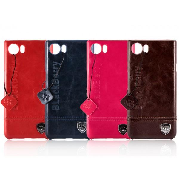 قاب چرمی بلک بری مناسب BlackBerry Keyone Dtek70/Mercury
