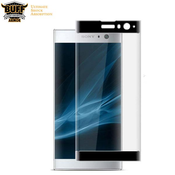 محافظ صفحه شیشه ای تمام صفحه و خمیده مارک Buff برای Sony Xperia XA2
