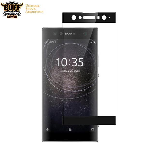 محافظ صفحه شیشه ای تمام صفحه و خمیده مارک Buff برای Sony XA2 Ultra
