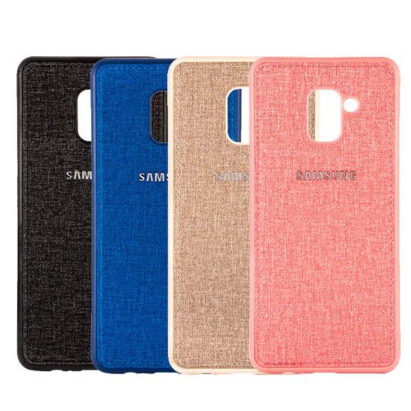 قاب طرح پارچه ای مناسب Samsung Galaxy J6 2018 / J600