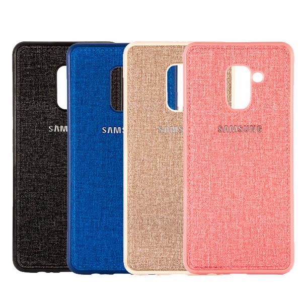 قاب طرح پارچه ای مناسب Samsung Galaxy A6 Plus 2018