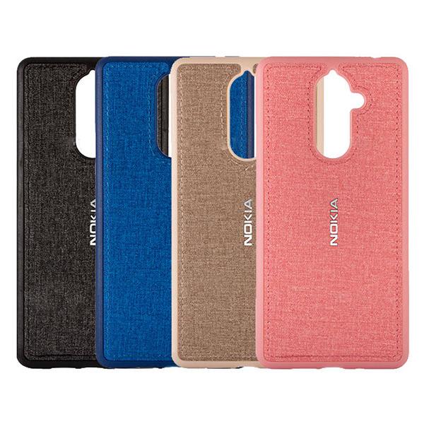 قاب طرح پارچه ای مناسب Nokia 7 Plus