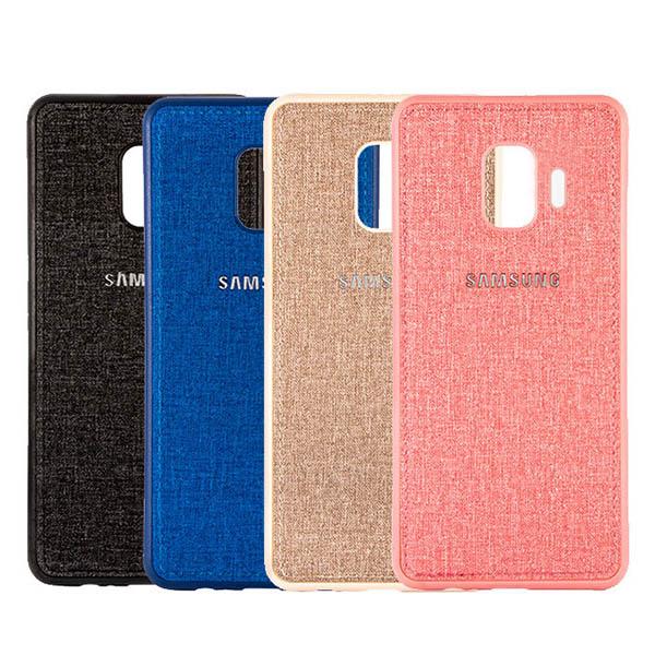 قاب طرح پارچه ای مناسب Samsung Galaxy J4 2018 / J400