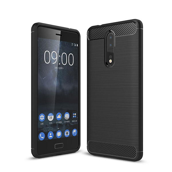 قاب فیبر کربنی Rugged Armor مناسب نوکیا Nokia 8