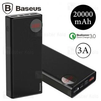 پاوربانک 20000 فست شارژ بیسوس Baseus Mulight Type C QC3.0 PPALL-MY01 سه پورت