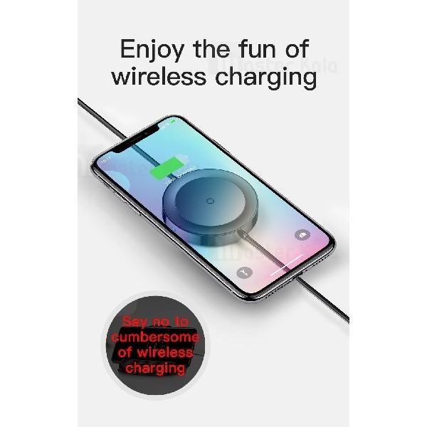 کابل و شارژر وایرلس بیسوس Baseus iP Cable Wireless Charger WXCA-01 توان 5 وات