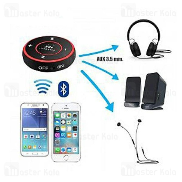 گیرنده صوتی بلوتوثی ارلدام Earlodm ET-M23 Bluetooth Audio Receiver