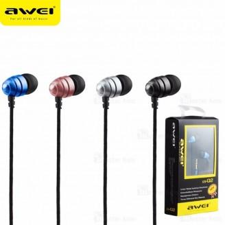 هندزفری سیمی AWEI ES-Q2 IN-Ear Headphones ساختار تو گوشی