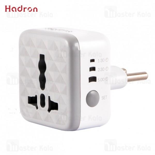 محافظ هوشمند و مبدل برق هادرون Hadron P102 Smart Surge Protector And Adaptor