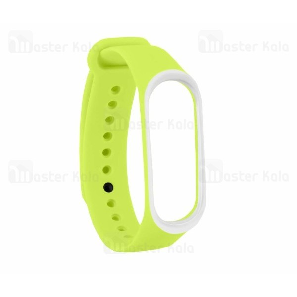 بند سیلیکونی دستبند سلامتی شیائومی Mi Band 3 Sport Silicone Band دور رنگی