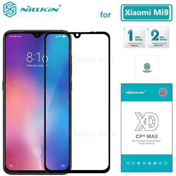 محافظ صفحه شیشه ای تمام صفحه تمام چسب نیلکین Xiaomi Mi 9 / Mi9 / Mi 9 Explorer Nillkin XD CP+ Max