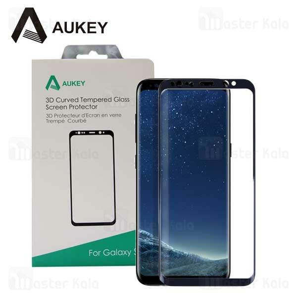 محافظ صفحه شیشه ای تمام صفحه آکی Samsung Galaxy S8 Plus Aukey SP-G28