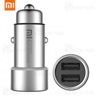 شارژر فندکی فست شارژ Xiaomi CZCDQ01ZM دو پورت 3.4 آمپر با گارانتی 18 ماهه