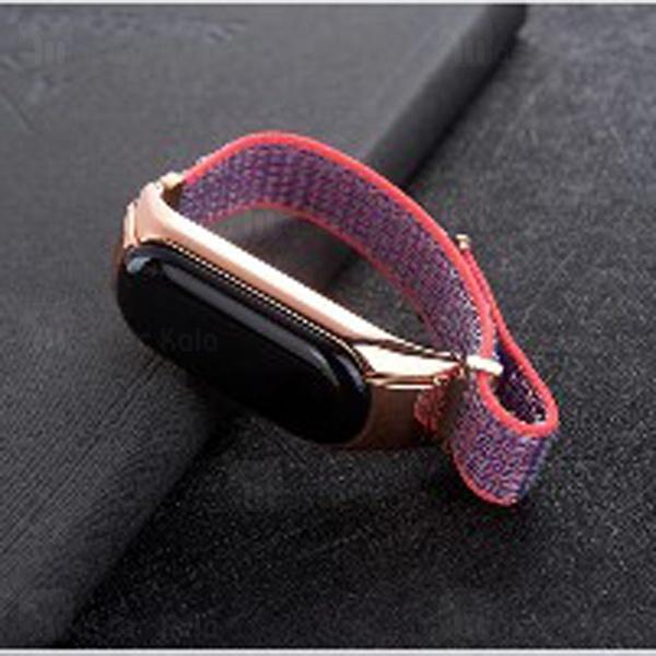 بند چسبی دستبند سلامتی شیائومی Xiaomi Mi Band 3 nylon wristband Strap