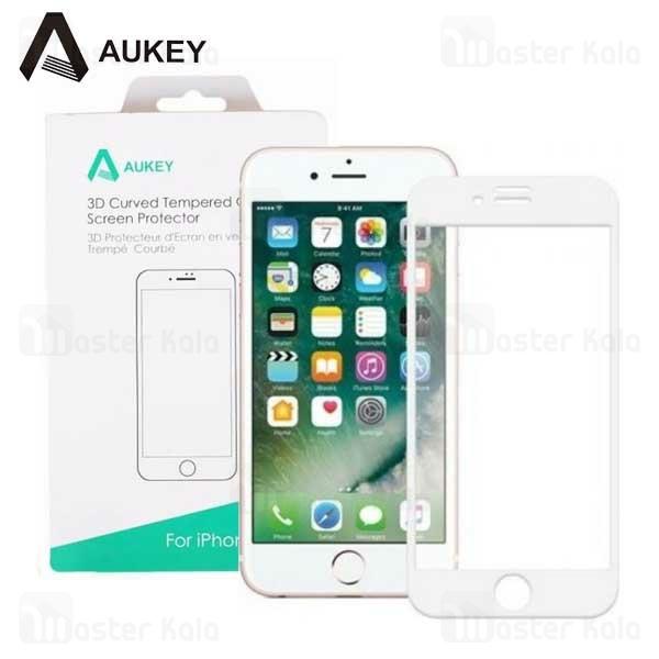 محافظ صفحه نمایش شیشه ای تمام صفحه آکی Aukey SP-G25 Apple iPhone 7