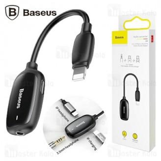 کابل تبدیل لایتنینگ اتصال همزمان هندزفری و شارژر Baseus Audio Converter CALL51-01