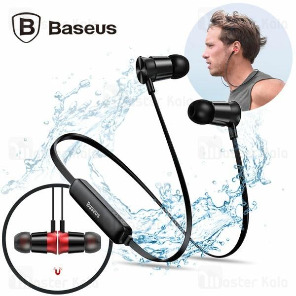 هندزفری بلوتوث بیسوس Baseus Encok S07 NGS07-01 طراحی مگنتی و ضد آب
