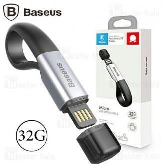 فلش مموری 32 گیگابایت و کابل میکرو یو اس بی Baseus Union Portable USB