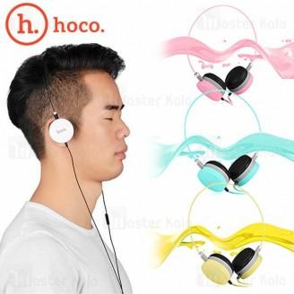 هدفون سیم دار هوکو HOCO W3 Over Ear Wired Headphone