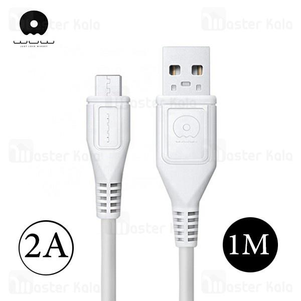 کابل شارژ میکرو یو اس بی WUW X85 Charge Cable طول 1 متر با توان 2 آمپر